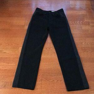 Rag and bone shaded black high-rise jeans 25